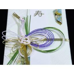 【送料無料】御祝儀袋(緑) 一般・婚礼お祝用
