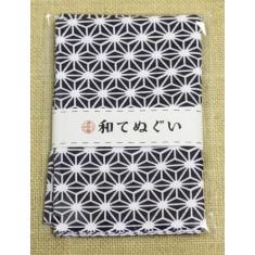 小紋調和手拭 麻紺1440-2