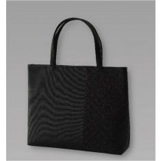 【送料無料】印伝調横型フォーマルバッグ
