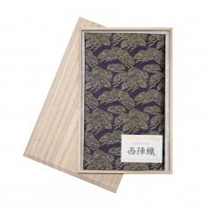西陣織ふくさ 松寿 紫
