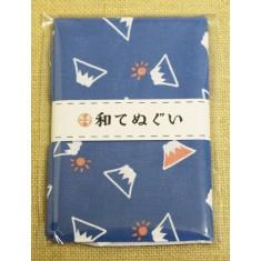 小紋調和手拭 富士山1440-12
