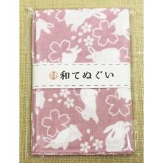 小紋調和手拭 うさぎ1440-4